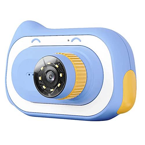OhhGo Kamera Video Recorder mit Mikroskop-Funktion Wiederaufladbare Elektronische Kamera mit 2 Zoll Bildschirm Kamera Spielzeug für Geburtstag