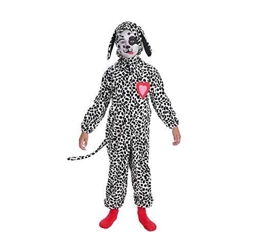 LLOPIS - Disfraz Infantil dálmata corazón t-0