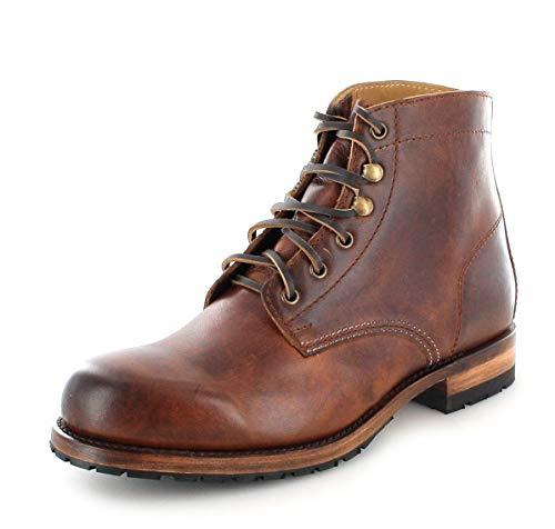 Sendra Boots Unisex Chukka Boots 10604 Evo Tang Schnürstiefel Lederstiefel Urban Boots Braun 38 EU