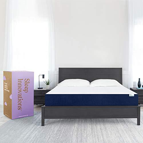 Sleep Innovations Marley Cooling Gel Memory Foam Mattress, King, 10 Inches