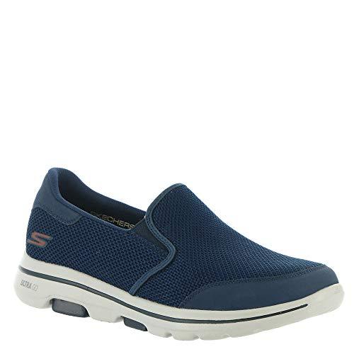 Skechers Men's Gowalk 5 Apprize-Double Gore Slip on Performance Walking Shoe Sneaker, Navy 2, 10.5
