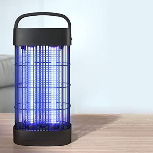 XXCC Lampe Anti-Moustique,Lampe Anti-Moustique intérieure Domestique,Lampe Anti-Moustique Portable Verticale,Anti-Moustique Physique,Anti-Moustique à Tube Double,