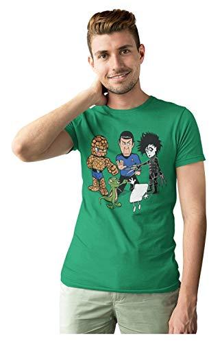 Camiseta de Big Bang Theory 'Piedra, papel, tijera, lagarto, Spock'