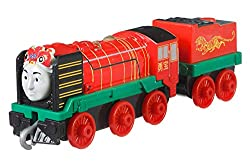 ​Includes die-cast metal Yong Bao ​Features plastic connectors to attach to other Push Along and Motorized TrackMaster engines, vehicles, cargo cars or tenders (sold separately and subject to availability) ​Highly detailed to reflect the colours and ...