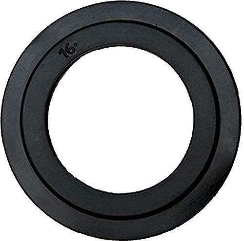 Universal-Lippendichtung für Stopfenventil und Siebkörbchen - Ersatzteil - Dichtungsring - Dichtung - Abfluss-Ventildichtung - 43 mm Durchmesser