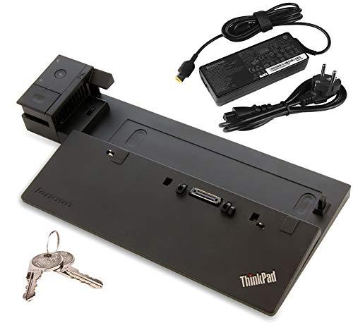 Perfect Case Lenovo ThinkPad Ultra Dock für ThinkPad T440 T450 T460 T470 T550 T560 T570 X240 X250 X260 X270 W540 W541 W550s P50s P51s | MIT SCHLÜSSEL | MIT NETZTEIL | (Generalüberholt)