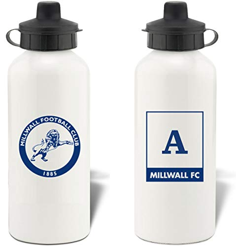 Personalised Official Millwall FC Aluminium Water Bottle