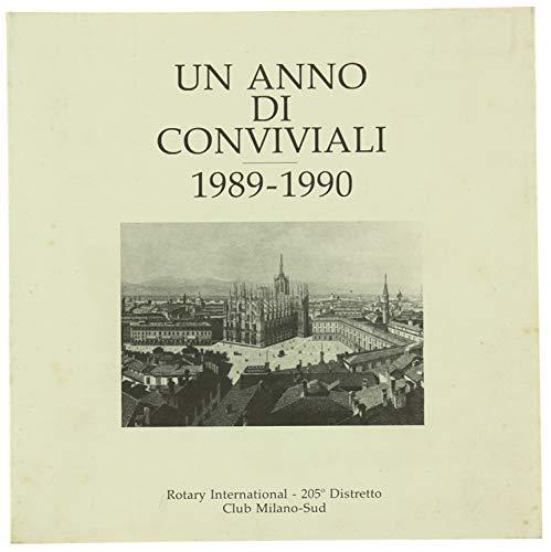 UN ANNO DI CONVIVIALI. 1989-1990.