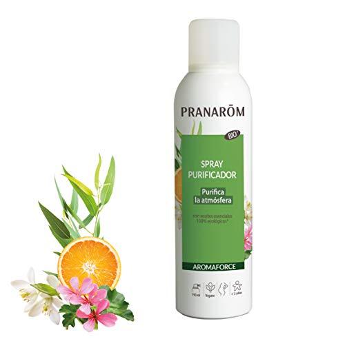 Pranarom - Aromaforce - Spray Purificador Bio - Purifica La Atmósfera, color Purificante, 150 ml