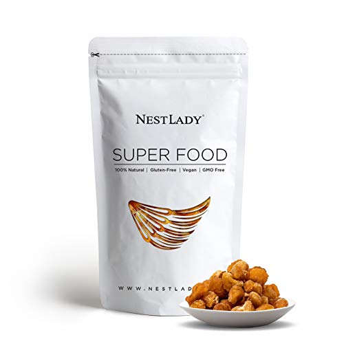 NESTLADY Natural Dried Longan ,100% fruit Meat ,桂圆肉,No Sugars , Used in teas, Snacks, Dessert, - Edible, Cooking, Premium Quality | Net weight: 200 g (7.05oz) , Harvested in Thailand ,Packed in USA.