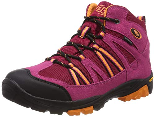 Brütting Damen Ohio High Trekking-& Wanderstiefel, Pink (Pink/Orange), 40 EU