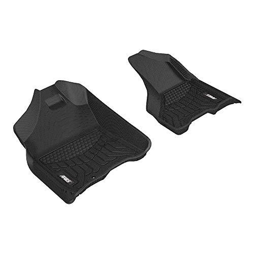 Aries Automotive DG01711809 Liners Custom Fit Floor Mat, Bl