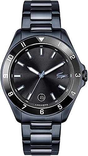 Lacoste Reloj Cosa análoga para de los Hombres de Cuarzo con Correa en Acero Inoxidable 2011128