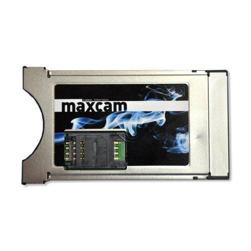MaxCam Twin Decrypt CI Modul (Smartcard + SIM Slot)