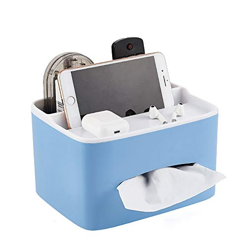 Kcakek Tissue Storage Box Multifunctionele Storage Box Simple Dustproof Cosmetische Storage Box badkamer en slaapkamer Rekken stofdicht Cosmetische Storage Box Ring Jewelry Storage Box