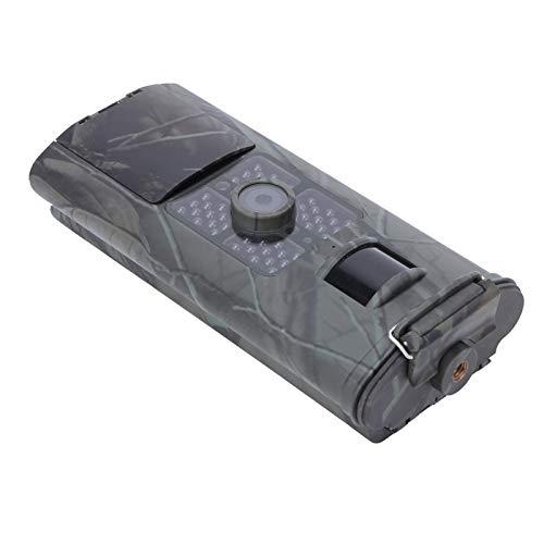 Ángulo de 120 grados con 9 disparos múltiples por disparo Cámara de caza de visión nocturna Impermeable, para vigilancia de seguridad en exteriores, para detección de campo