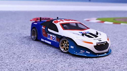 ExcelRC X-Form Body in Lexan Transparent 1/28 GT3 ( Unpainted) for Mini-Z Atomic GL Racing WL Toys