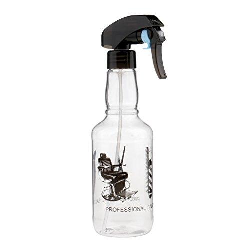 Sharplace Professionnel Vaporisateur d'Eau en Plastique pour Coiffure - Bouteille Spray Vide à Jardin/Plante/Ménage/Fleurs - 300ml - Blanc