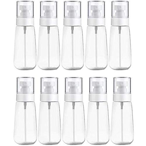 10 Pcs Portable Rechargeable en Plastique Brume Fine Parfum Bouteille De Pulvérisation Transparent Vide Pulvérisateur Pulvérisateur Bouteille 100 ML Transparent
