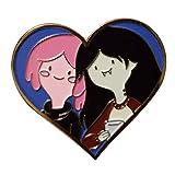 QXLG Alfiler Princess Bubblegum y Marceline Esmalte Pin Steven Universo Fans Linda Adición Exquisito
