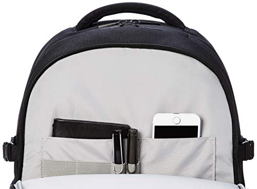 41W4OY6OG0L - AmazonBasics - Mochila de estilo urbano para ordenador portátil, 38 cm, granate