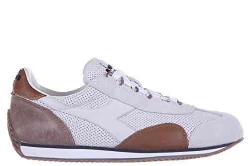 Diadora Heritage Zapatos Zapatillas de Deporte Mujer en Piel Nuevo Heritage Blanco...