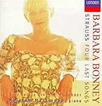 Strauss: Four Last Songs / 15 Lieder ~ Bonney