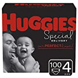 Huggies Special Delivery Hypoallergenic Baby Diapers, Size 4, One Month Supply, 100 Count
