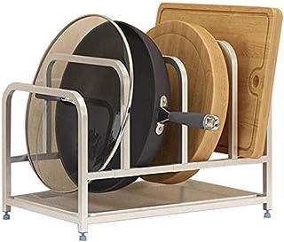 HSWJ Cuisine Rack Outil Rack en Acier Inoxydable Pot Rack Planche à découper Support de Rangement Ustensiles de Cuisine en...