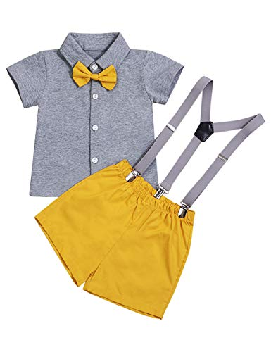 Baby Boy Girl Brother and Sister Matching Fashion Outfits Short Sleeve T-Shirt Tops + Shorts Set(2-3T)