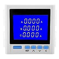 VIFEER デジタル三相多機能電圧電流計電圧計電流計のスマート機器