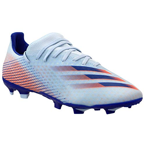 adidas Mens X Ghosted .3 Firm Ground Soccer Cleats - Blue -...