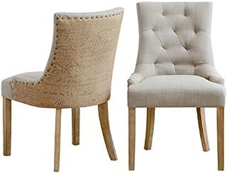 Amazon.es: sillas de comedor tapizadas en tela - 4 estrellas ...