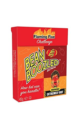 Jelly Belly Bean Boozled Flaming Five Flip Top Box 45g