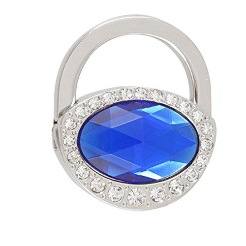 Candado de la forma de imitación de cristal plegable del bolso del...