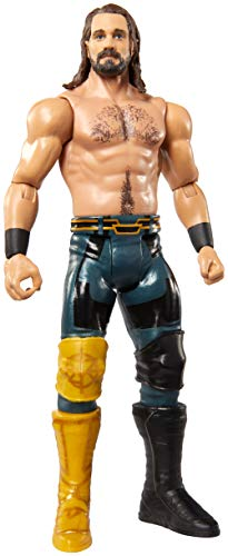 WWE Seth Rollins Basic Series #102 Action Figure in 6-inch Scale with Articulation & Ring Gear