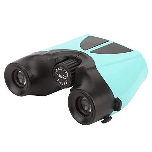DAUERHAFT Mini telescopio Binocular Duradero Plegable 10X22 Ligero portátil para Viajes, Senderismo, Actividades Deportivas, Animales Salvajes
