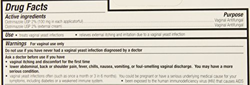 Clotrimazole 3 Day Vaginal Cream 0.74 Oz, 3 dosages