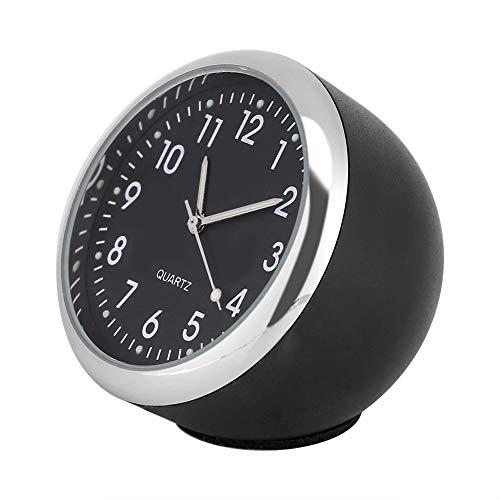 Mothinessto Reloj de Cuarzo con luz Nocturna Reloj de Coche Reloj de Puntero Digital para autobús para