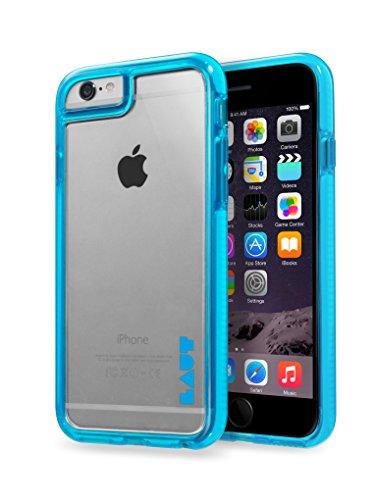 LAUT IP6_FR_BL Funda para teléfono móvil Azul, Transparente - Fundas para teléfonos móviles (Funda, Apple, iPhone 6/6S, Azul, Transparente)