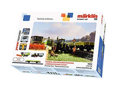 "Märklin Start up 78652 - Themen-Ergänzungspackung \""Landwirtschaftszug\"". Spur H0."