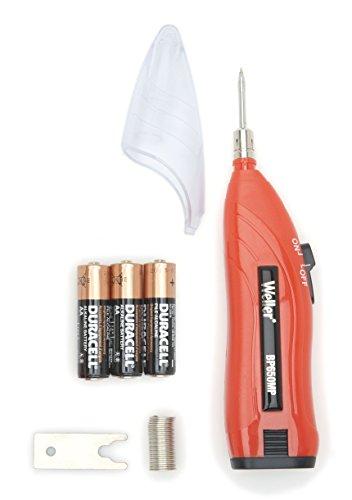 Weller BP650CEU Fer A Souder Avec Piles, Etui Et Accessoires Facile A Utiliser Avec Chauffage Rapide 6 Watt/4.5 Volt