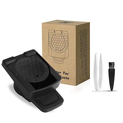 i Cafilas Nespresso Original Line System System Kapsel-Adapter Kapseln für Dolce Gusto Maschinen,Wiederbefüllbare Kapsel-Adapter zum Nachfüllen,Dolce Gusto Kapselhalter