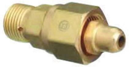 Western CGA-540 X CGA-346 Brass Cylinder To Regulator Adapter