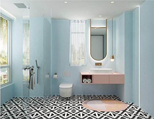 Ballyzess Selbstklebende Tapete Badezimmer Renovierung Wasserdichte Küche Fliesendekoration