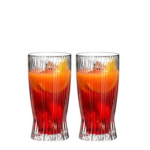 Copas de vino Copa de vidrio de cristal de vidrio Taza de té Taza de agua Ocean Cup Cup XO Vino Taza (Color : E)