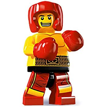 "LEGO-MINIFIGURES SERIES 16 X 1 HEAD FOR THE KICKBOXER  SERIES 16 PARTS /""READ/"""