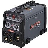 MTS-205 205 Amp MIG TIG Stick Arc DC Welder 110/230V Dual Voltage IGBT Inverter Welding Weld Aluminum(MIG)