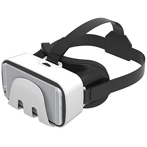 Bias&Belief VR-Brille,Virtual Reality-Brille,Pupillenabstandseinstellung,Anti-Blaue Linse Schützt Die Augen,für 4,7-6 Zoll Handy