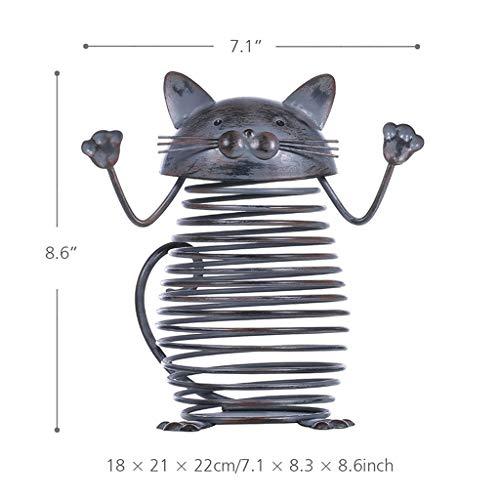 LIAOLEI10 sculptuur Wijn Kurk Container Bar Accessoires Ijzer Ambacht Modern Home Decor Gift Handwerk Metalen Animal Ornament